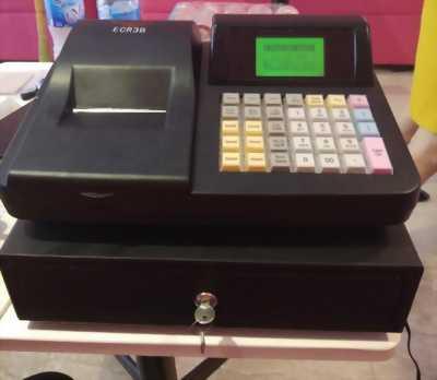 Máy tính tiền casio cho quán ăn, cafe vừa và nhỏ