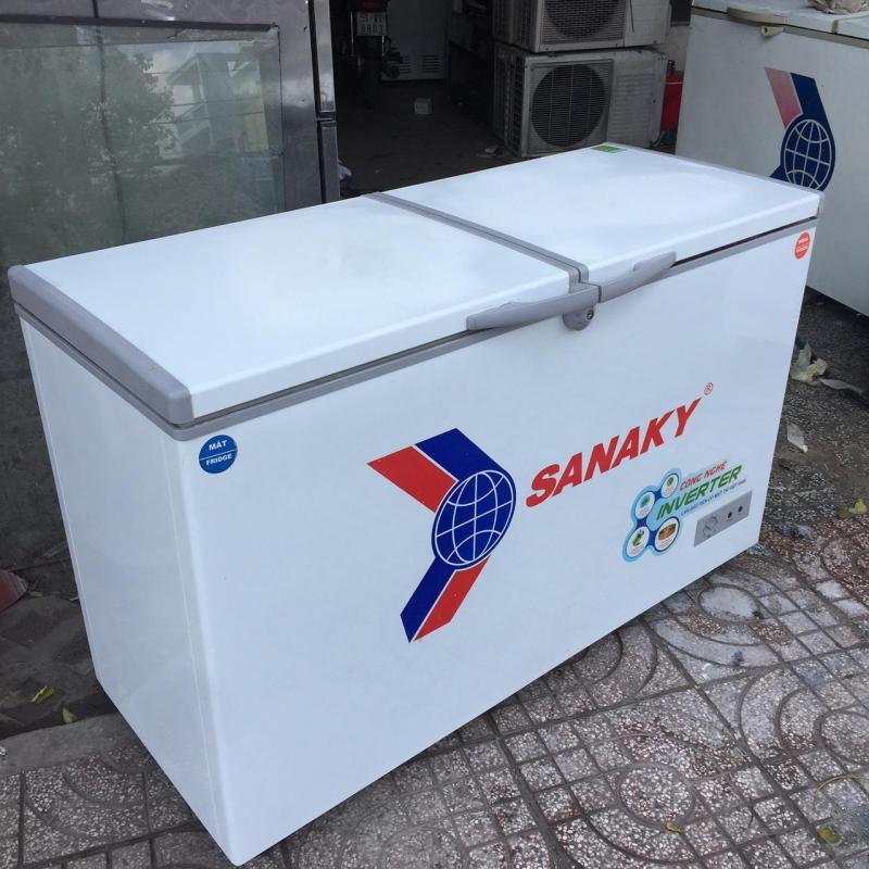 tủ đông cũ 400L sanaky