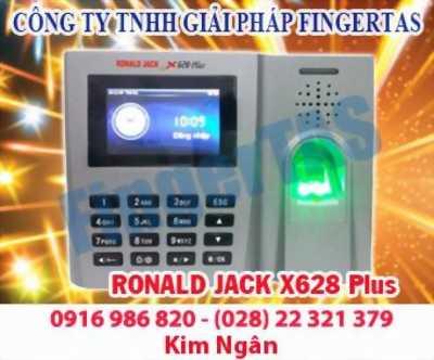 Chuyên phân phối thiết bị chấm công vân tay toàn quốc RJ X628Plus