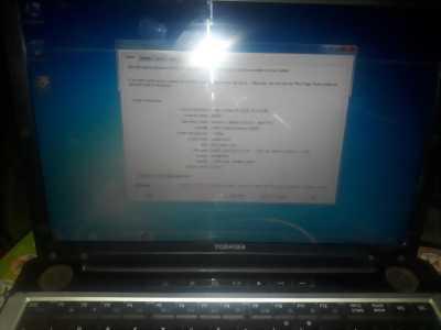 Thanh lý laptop toshiba