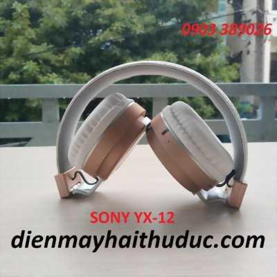 Tai nghe Sony YX-12 hỗ trợ bluetooth, FM, thẻ nhớ