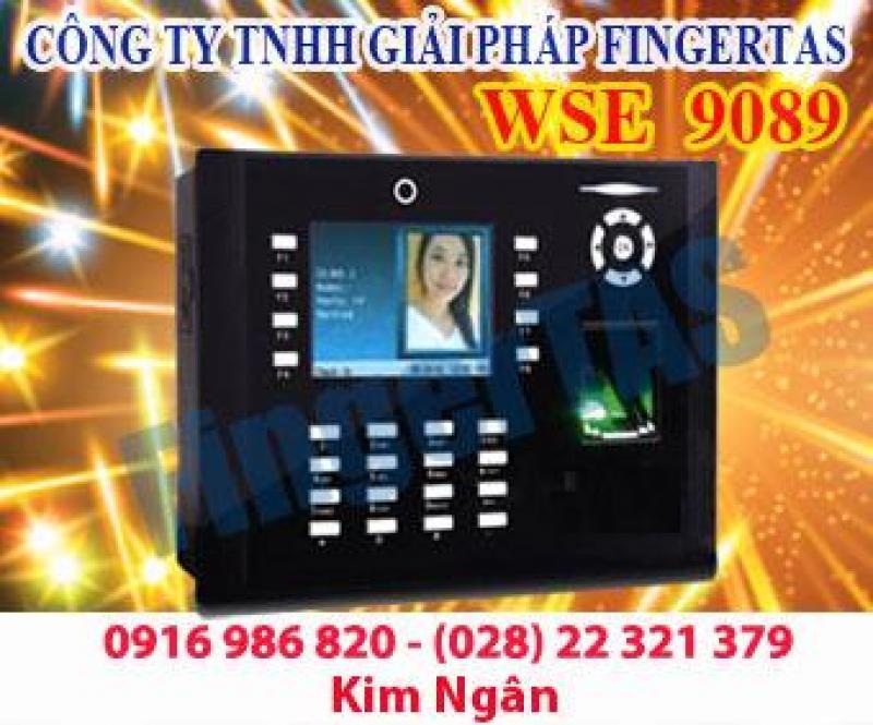 Máy chấm công vân tay chụp hình lại khi chấm WSE 9089 hàng mới 100%