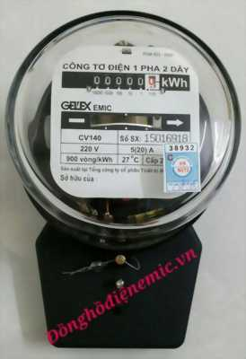 Công tơ 1pha 2 dây EMIC CV140 5(20A) giá tốt