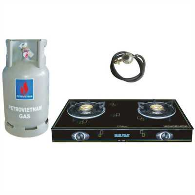 Bếp và bình gas