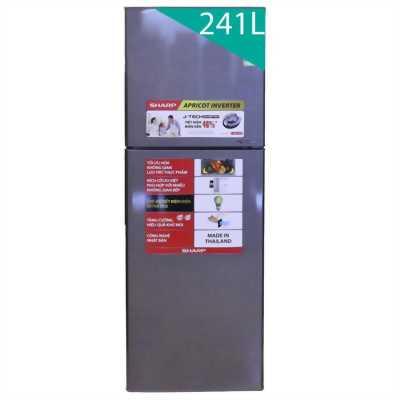 Tủ lạnh sharp Interner 241lit mới