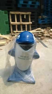 Chuyên cung cấp thùng rác hình thú ,sóng nhựa