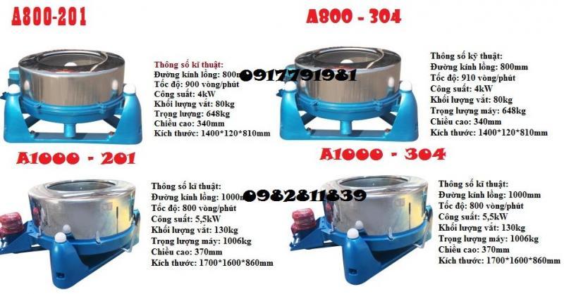 Máy vắt li tâm công nghiệp 25-220kg 1241
