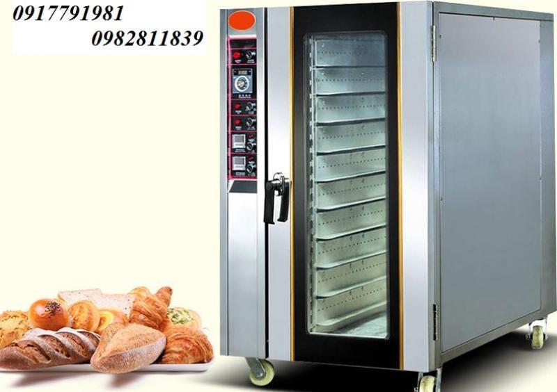 Lò nướng bánh mì đối lưu 5 khay hàng công ty
