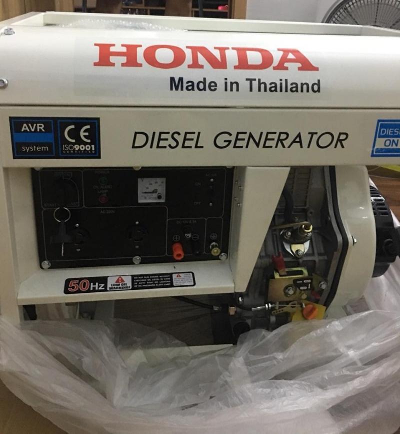 Mua Máy phát điện dầu Honda Thailand 5kw giá chỉ 14tr5