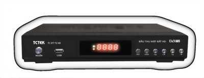 Đầu thu Kỹ thuật số mặt đất DVB T2 TCTek 377 chính hãng