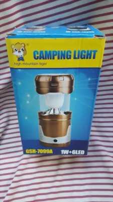 Đèn bão năng lượng mặt trời Camping Light GSH - 7099A