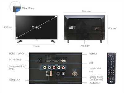 Internet Tivi 32 inch LG 32LH570D