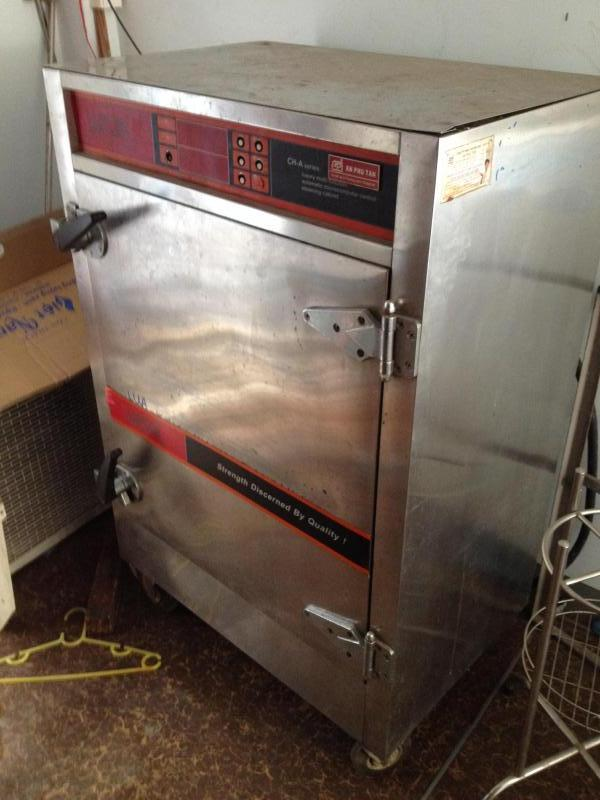 Bán gấp tủ hấp 8 ngăn dùng điện