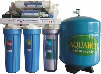 Máy lọc nước R.O AQUAWIN 6 cấp hàng chính hãng