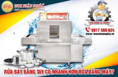 Có nên sử dụng máy rửa bát công nghiệp?