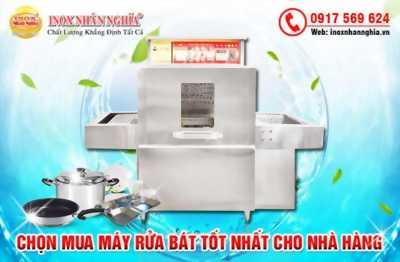 Những lưu ý khi chọn mua máy rửa bát cho nhà hàng