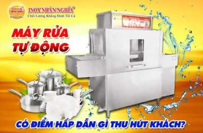 Máy rửa chén công nghiệp tự động thường có giá bao nhiêu?