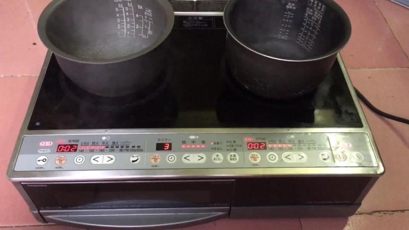 Bếp điện từ Toshiba nội địa Nhật