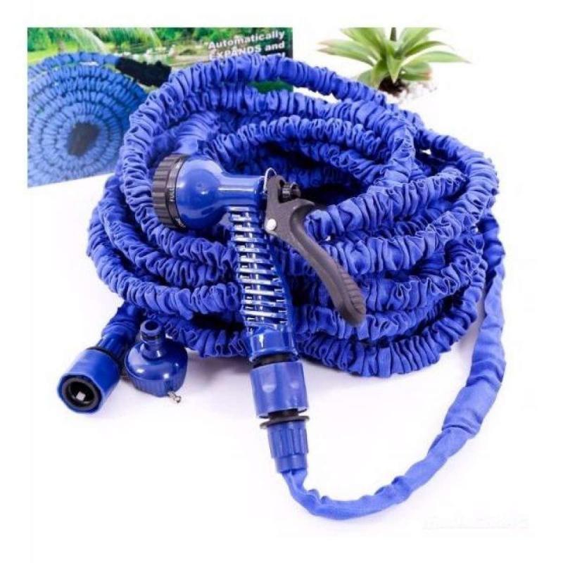 Ống nước co giãn 15m màu xanh