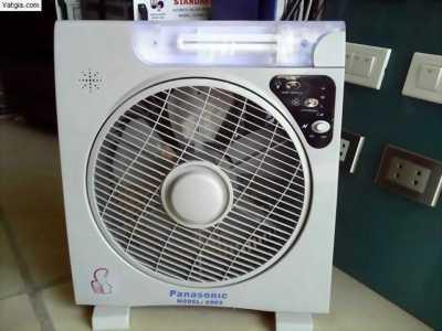 Quạt tích điện Panasonic 6969, ắc quy tích điện lên tới 8h