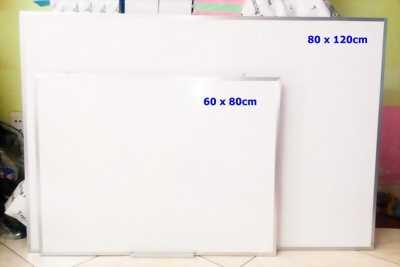 Bán Bảng Trắng Viết Bút Lông 0.8 x 1.2m