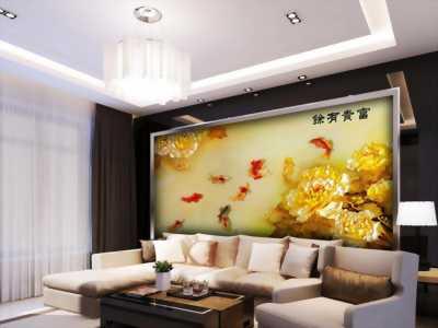 Gạch tranh ốp tường 3d