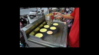 Máy làm bánh dorayaki ( doremon) giá rẽ (NEW 100%)