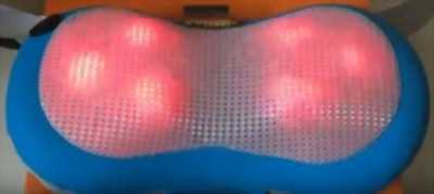 Gối massage hồng ngoại 6 bi G05