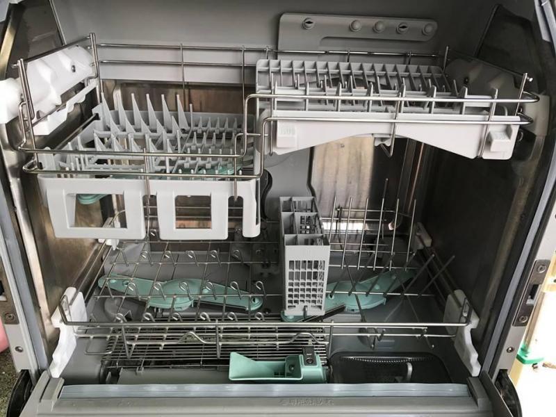 Máy rửa chén National NP-BM1 rửa nước nóng -2007