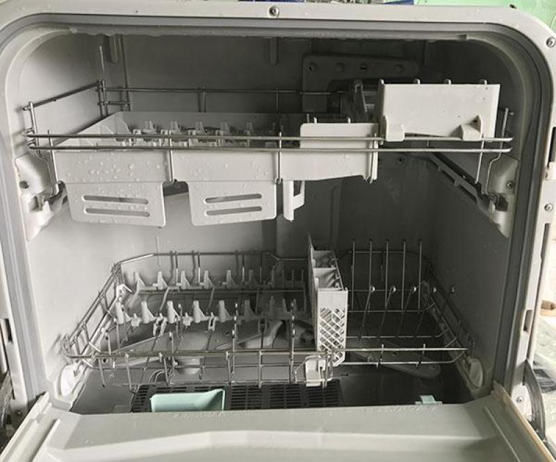 Máy rửa chén PANASONIC NP-TM1 rửa sấy cực sạch