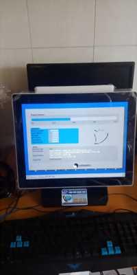 Máy tính tiền cảm ứng cho quán Trà Sữa tại bình dương