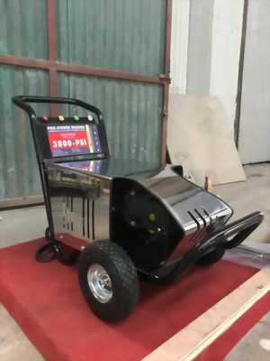 Máy rửa xe áp lực đẩy tay Bamboo BMB 3800PSI 3 pha