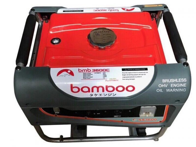 Máy phát điện Bamboo chạy xăng 2,5kw