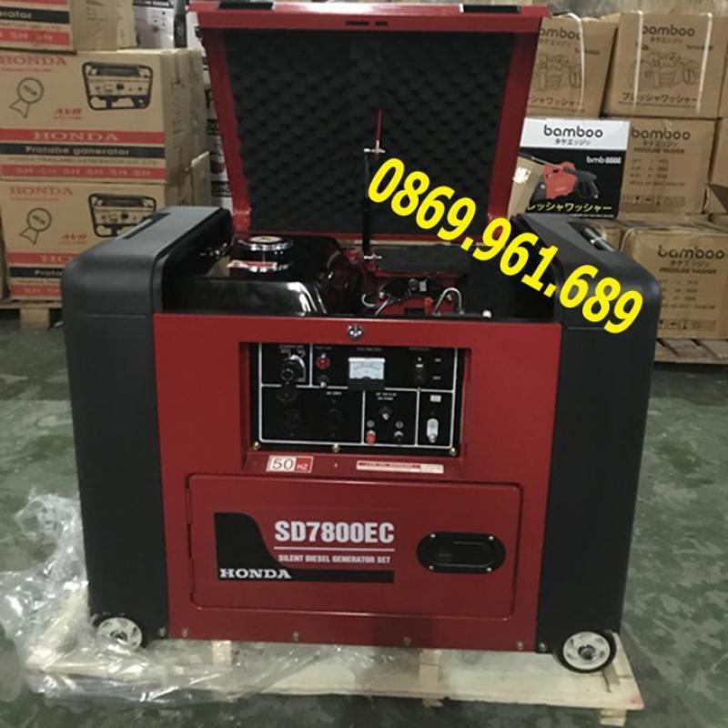Máy phát điện honda SD 7800EC 5.5kw