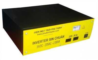 Inverter Sine Chuẩn 24V – 2.000VA