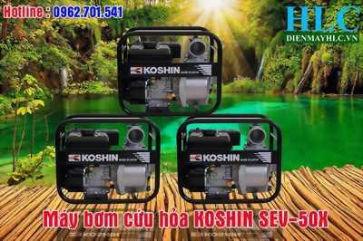 Bán máy bơm nước chính hãng Koshin SEV-50X toàn quốc