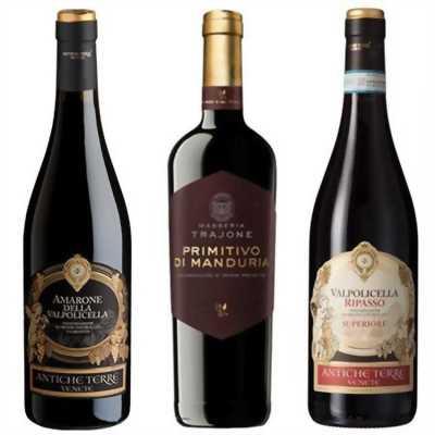 Top rượu vang ý bán chạy nhất