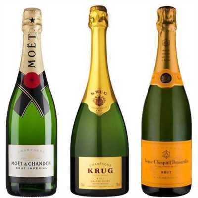 Top rượu Champagne bán chạy nhất
