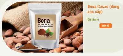 Bột cacao nguyên chất – Bona Cacao cao cấp
