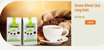 Bona cafe Green Blend (hạt rang/bột