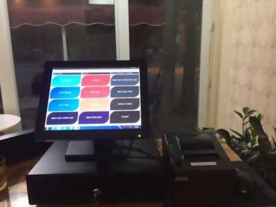Tư vấn lắp máy tính tiền dùng cho quán Cafe