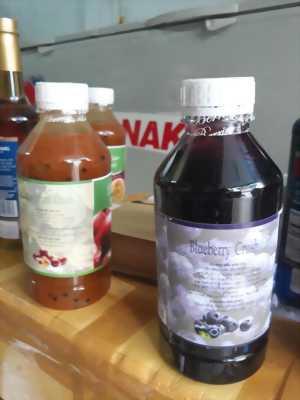 Nguyên Liệu làm sinh tố, trà sữa