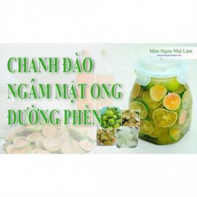 2 Hũ 1 kg Đặc sản Hà Nội chanh đào ngâm mật ong