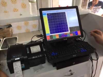 Phần mềm tính tiền-in tem sticker cho quán Trà Sữa