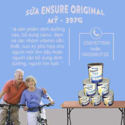 Sữa ENSURE ORIGINAL 397g