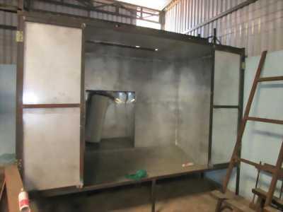 Đơn vị chuyên gia công Sơn tĩnh điện trên bề mặt kim loại các sản phẩm