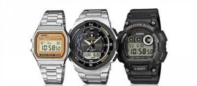 Đồng hồ Casio chính hãng.