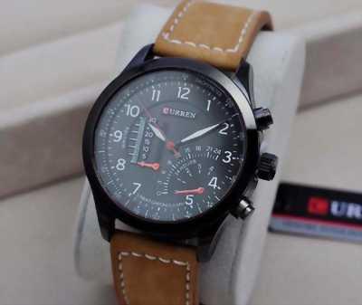 Đồng hồ Curren nam dây da cao cấp