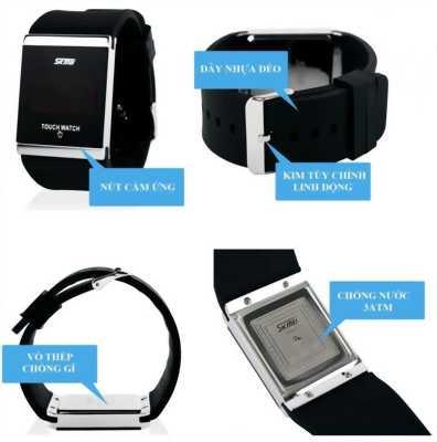 Đồng hồ kỹ thuật số mặt kính led