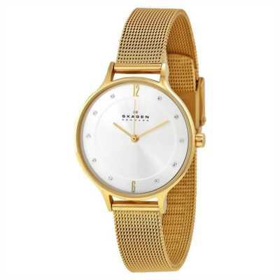 Đồng hồ nữ dây vàng Skagen